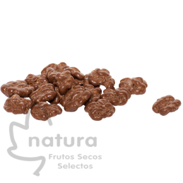 Nueces al chocolate suizo