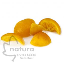 Naranja Escarchada a Cuartos