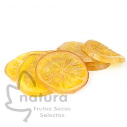 Naranja a Discos Confitada