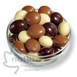 Almendra a los Tres Chocolates